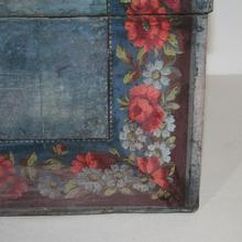 Stunning blue wedding box, France circa 1750