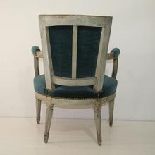 Beautiful pair of Louis XVI Chairs, France 18th century