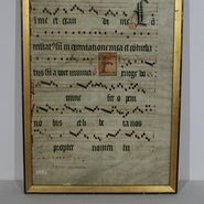 Antiphonarium in vellum, Italy circa 1600-1700.