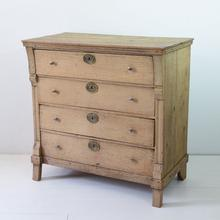 Oak empire chest of drawers, Holland circa 1800-1830