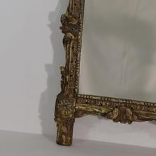 carved wooden baroque mirror France circa 1760