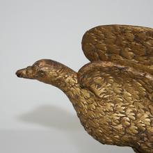 Wooden dove, France 18th century.