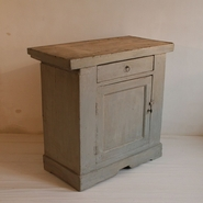 French painted Cupboard, France circa 1850