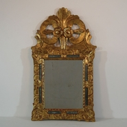 Gilded Louis XV Mirror , France circa 1700
