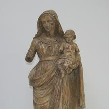 Beautiful Madonna with child, France 18th century