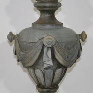 Beautiful zinc vase