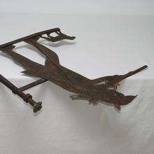 Beautiful and rare French weathervane, France circa 1750